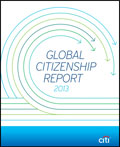 Citi publishes its 2013 Global Citizenship Report