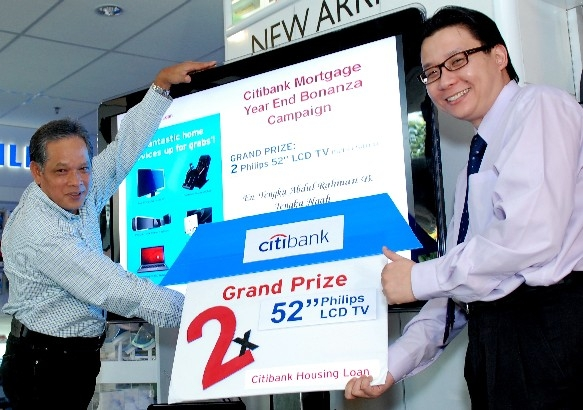 Malaysia Citibank Announces Winners Of Mortgage Year End Bonanza Campaign
